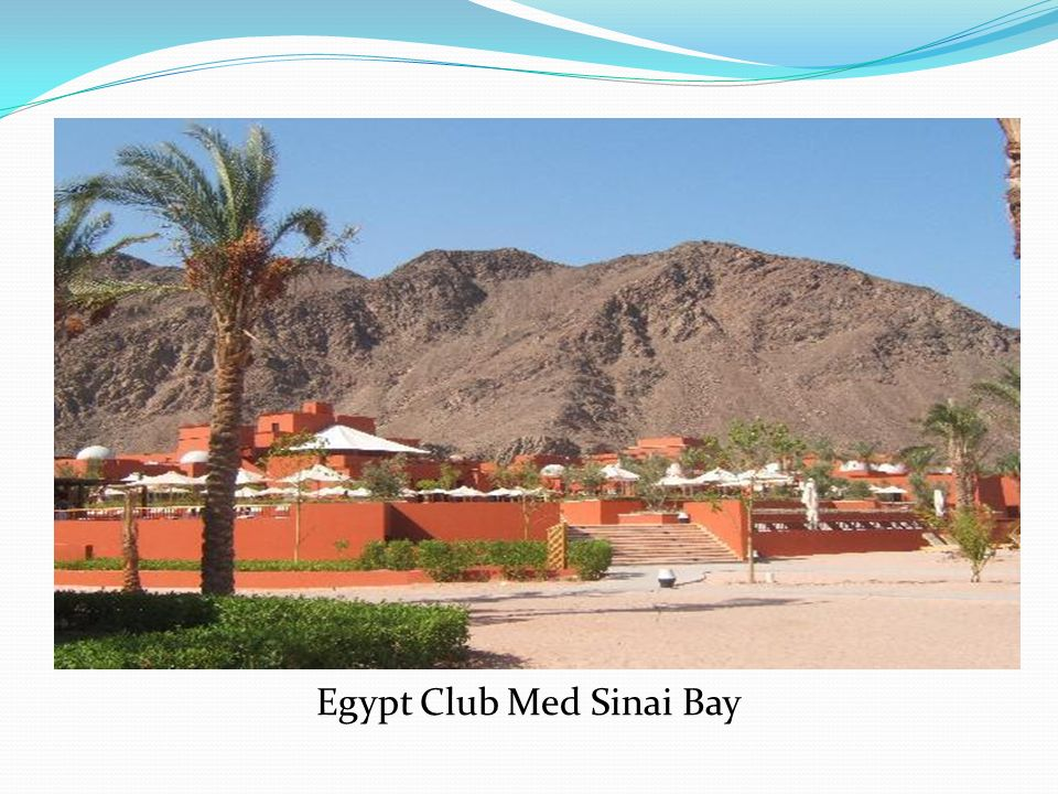 Egypt Club Med Sinai Bay