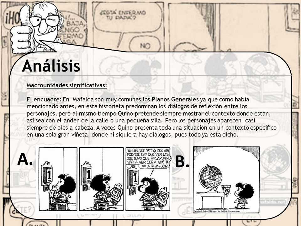 A. B. Análisis Macrounidades significativas: