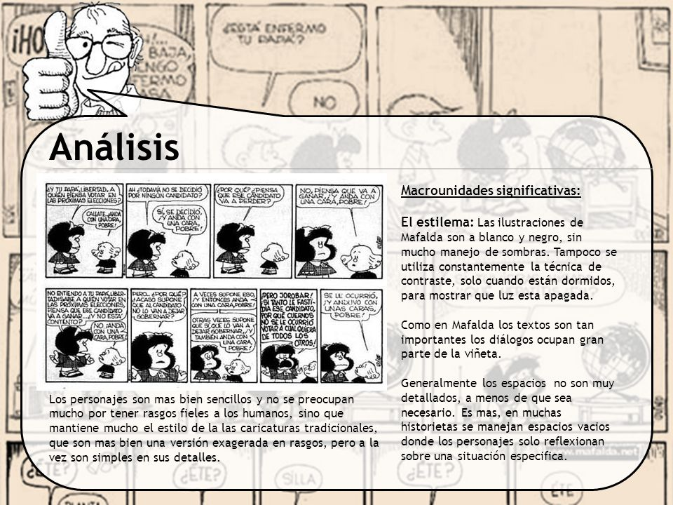 Análisis Macrounidades significativas: