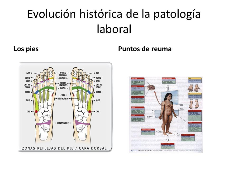 Evolución histórica de la patología laboral
