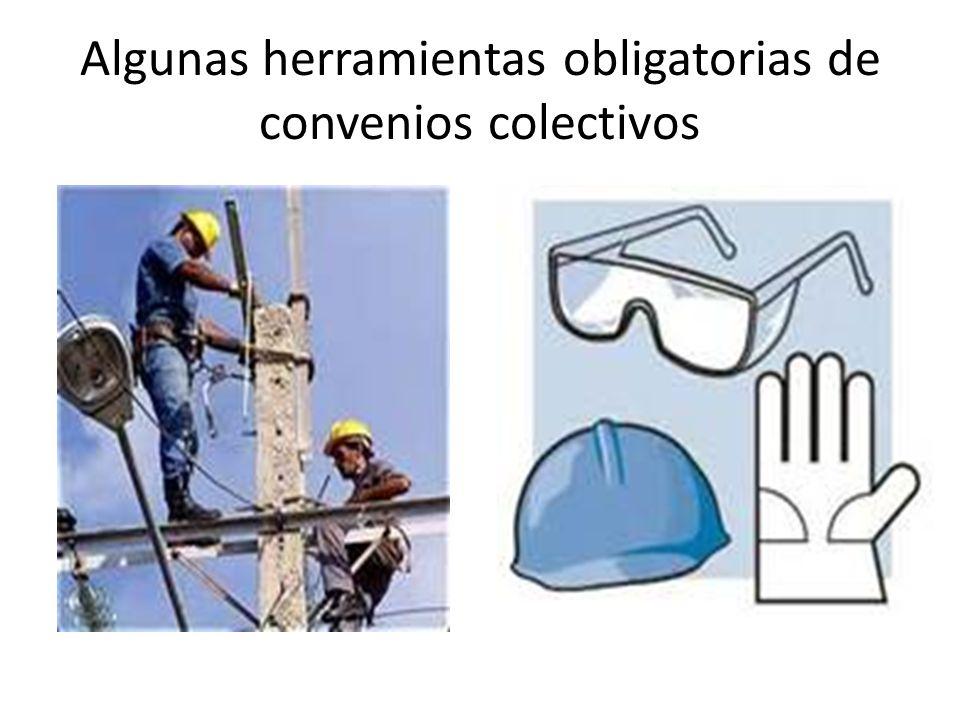 Algunas herramientas obligatorias de convenios colectivos