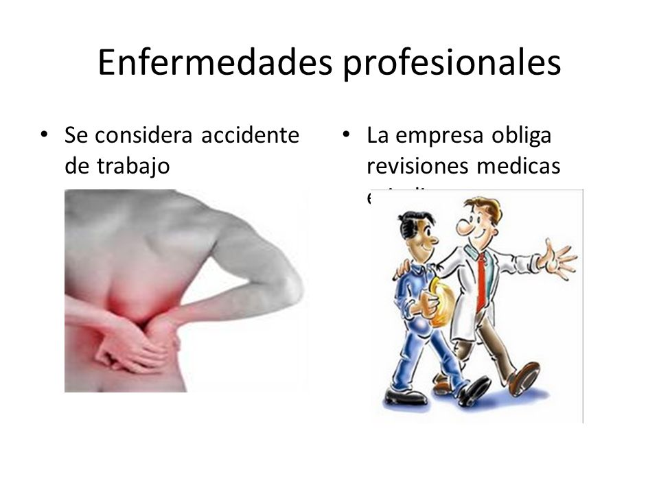 Enfermedades profesionales