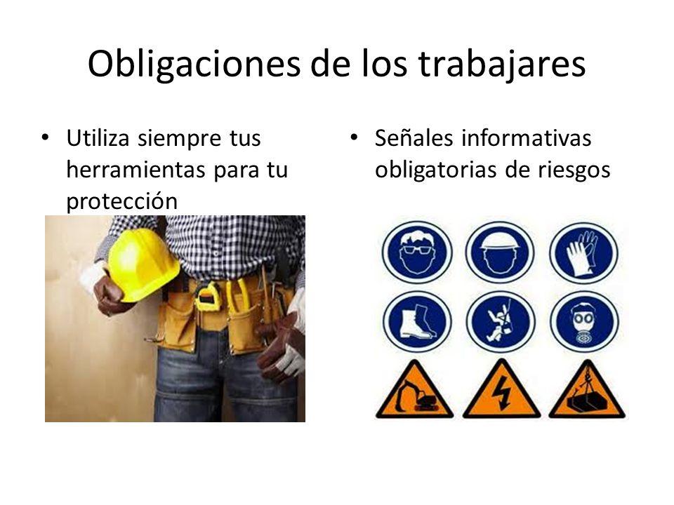 Obligaciones de los trabajares