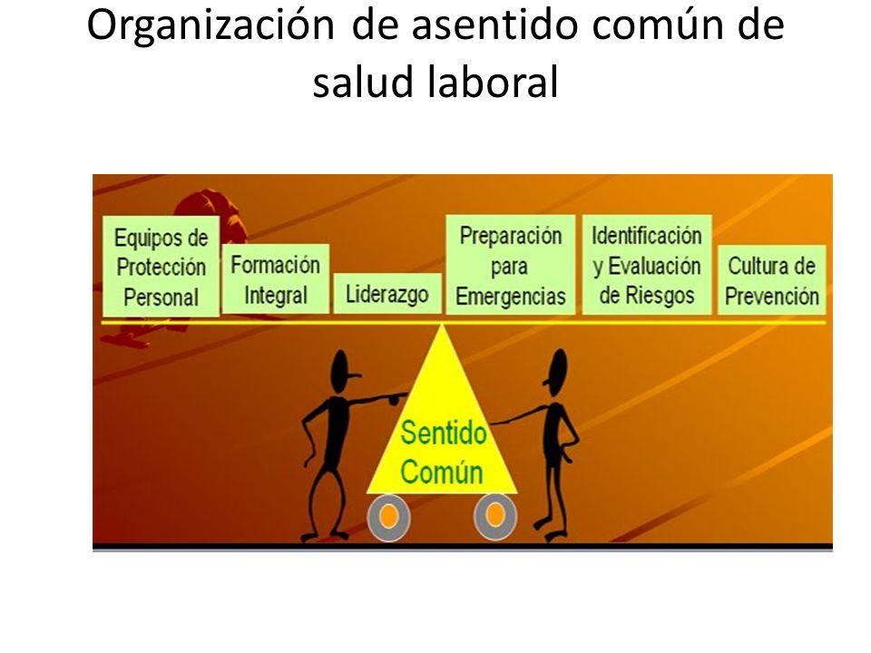 Organización de asentido común de salud laboral