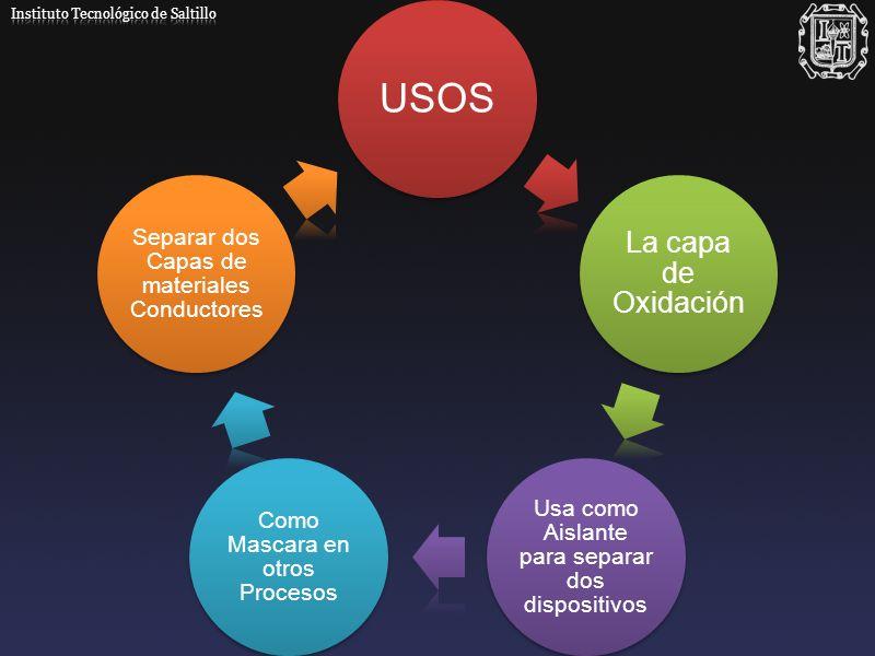 USOS La capa de Oxidación Instituto Tecnológico de Saltillo