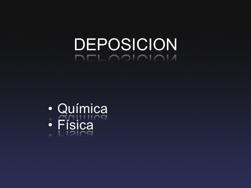 DEPOSICION Química Física