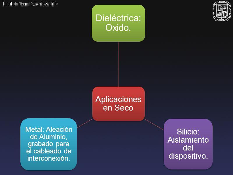 Silicio: Aislamiento del dispositivo.