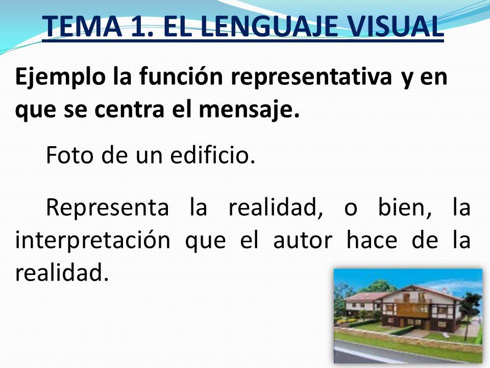 TEMA 1. EL LENGUAJE VISUAL