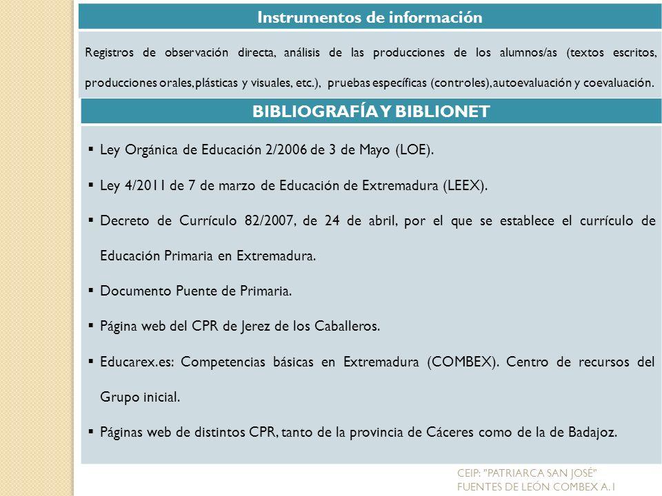 Instrumentos de información BIBLIOGRAFÍA Y BIBLIONET