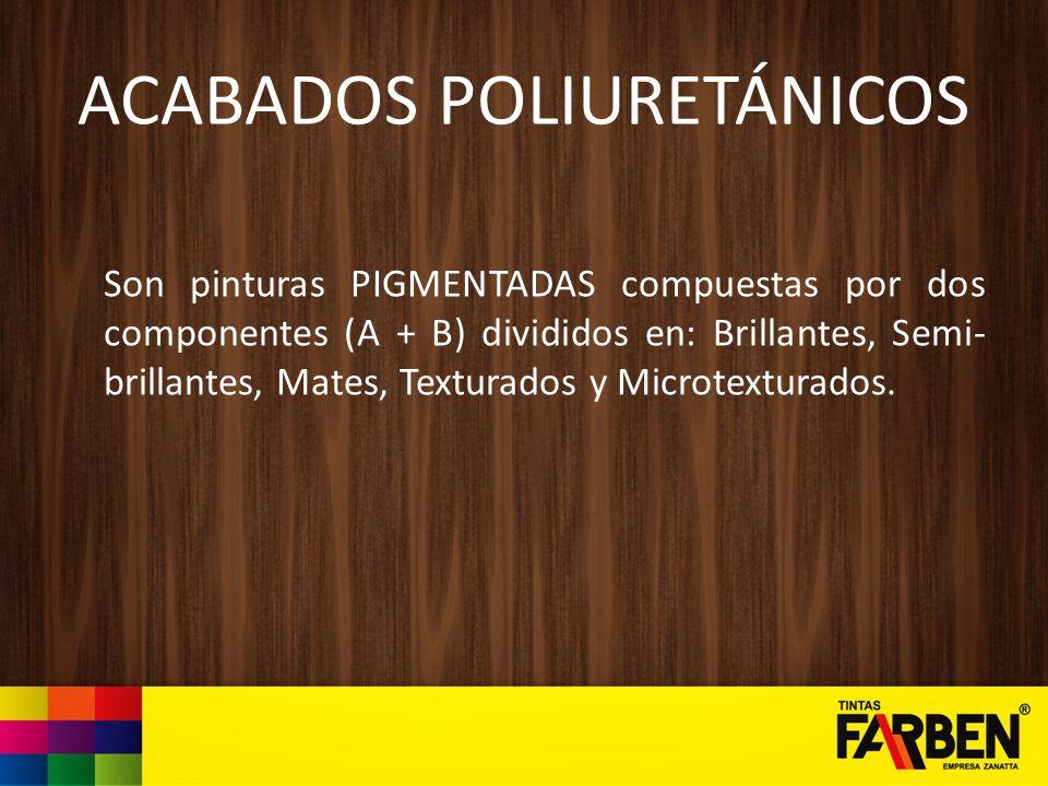 ACABADOS POLIURETÁNICOS