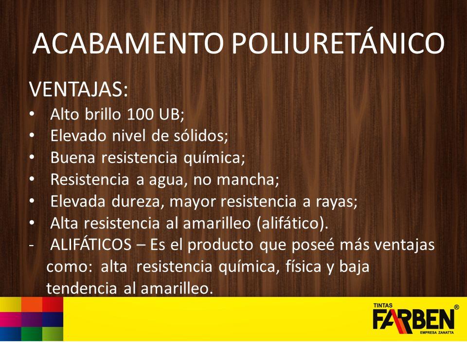ACABAMENTO POLIURETÁNICO