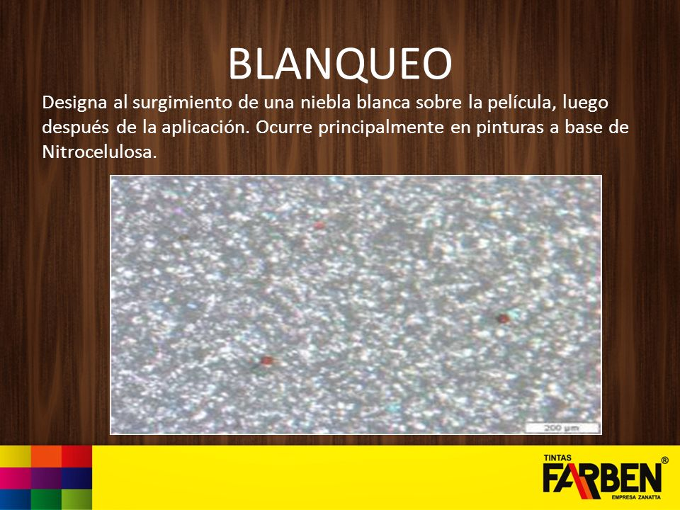 BLANQUEO