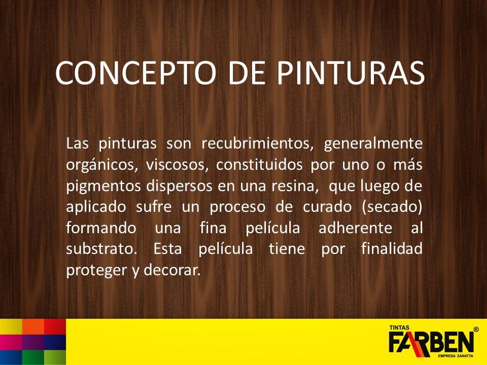 CONCEPTO DE PINTURAS
