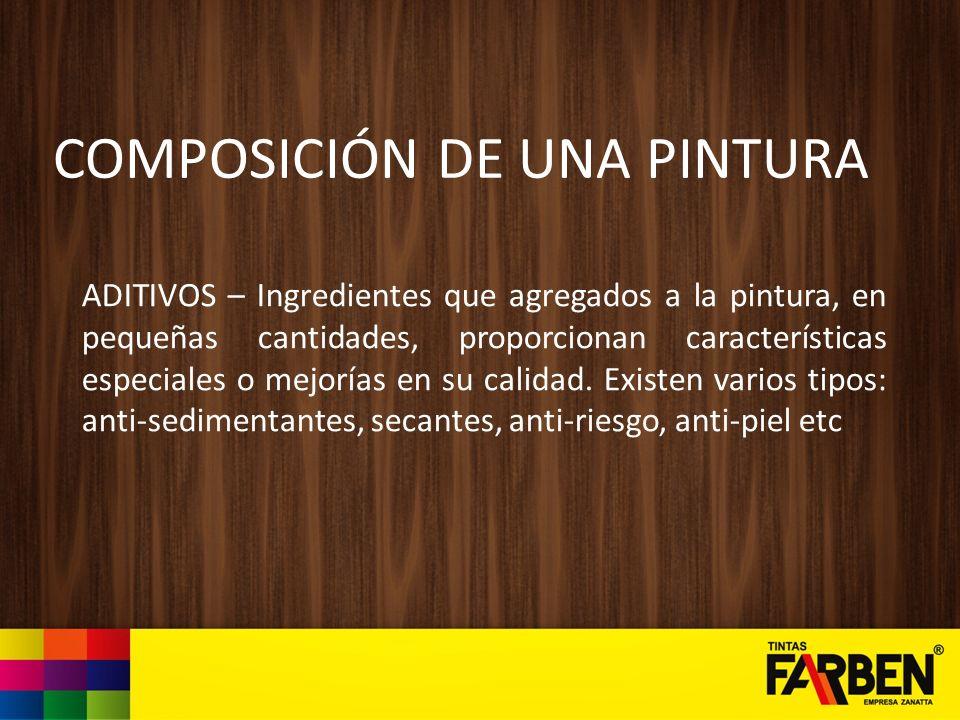 COMPOSICIÓN DE UNA PINTURA