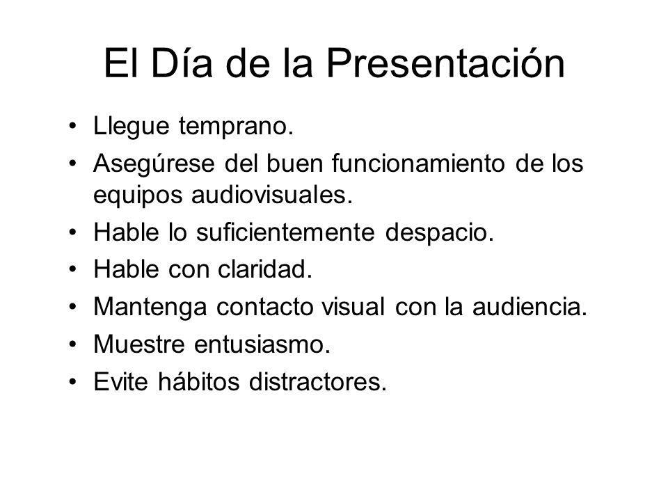 El Día de la Presentación