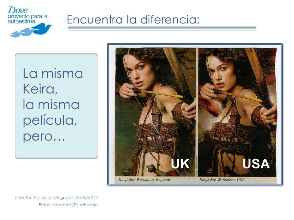 La misma Keira, la misma película, pero… UK USA