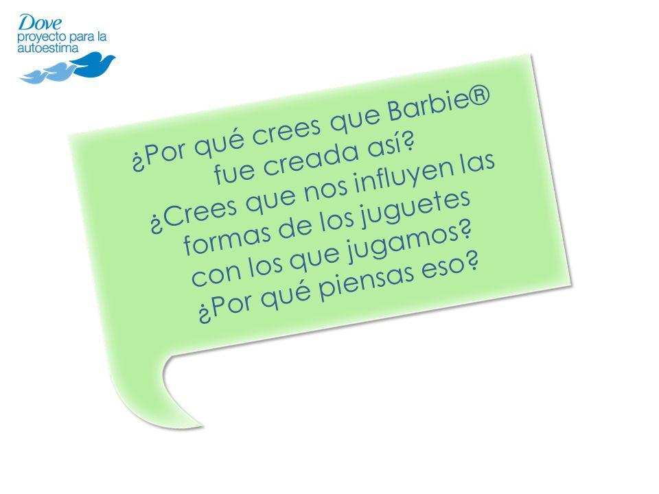 ¿Por qué crees que Barbie® fue creada así