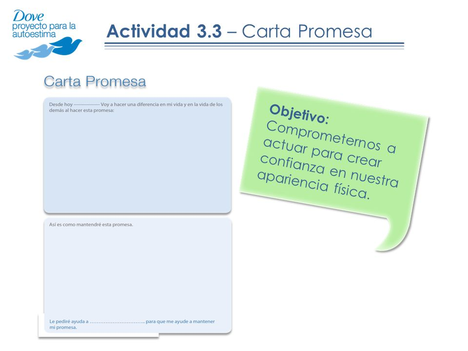 Actividad 3.3 – Carta Promesa