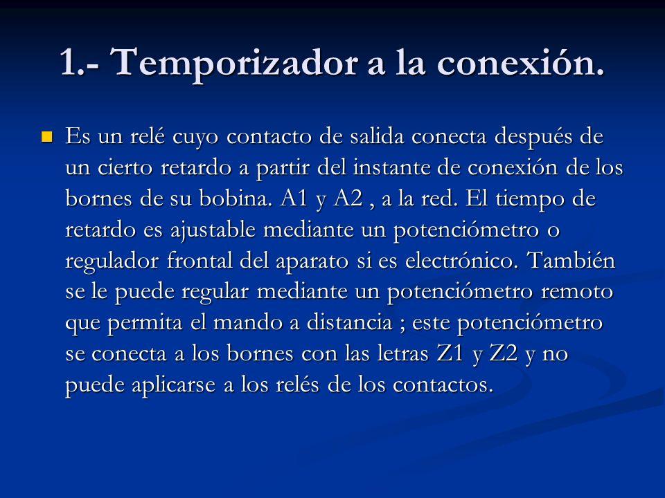 1.- Temporizador a la conexión.