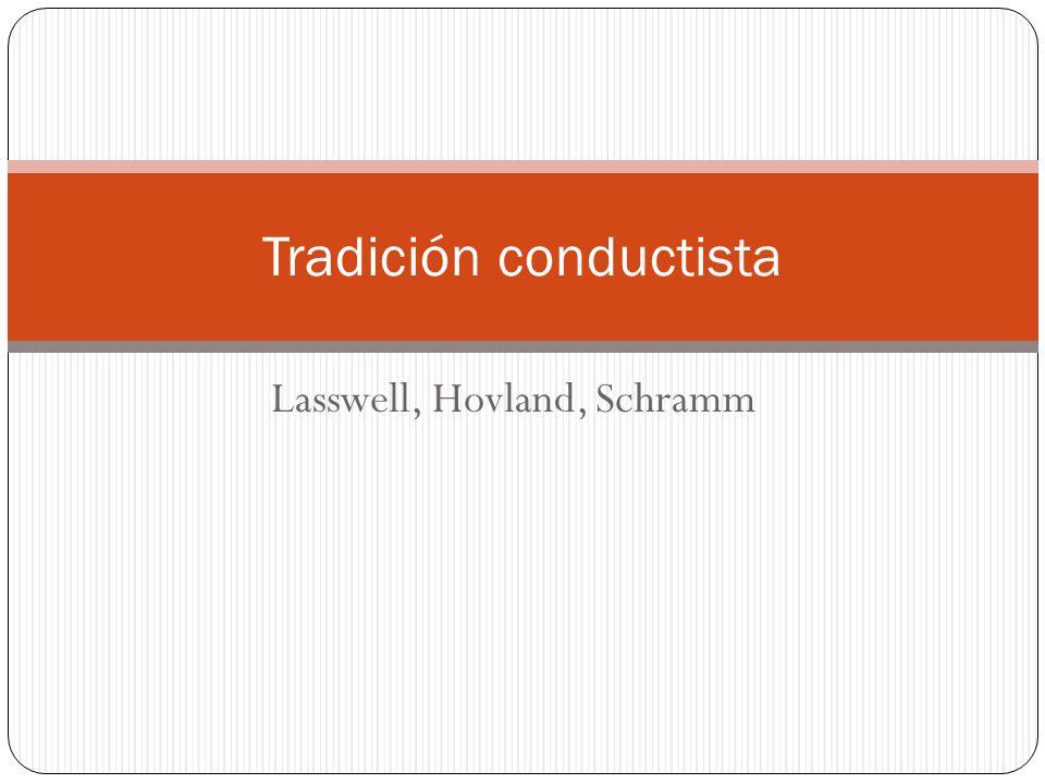 Tradición conductista