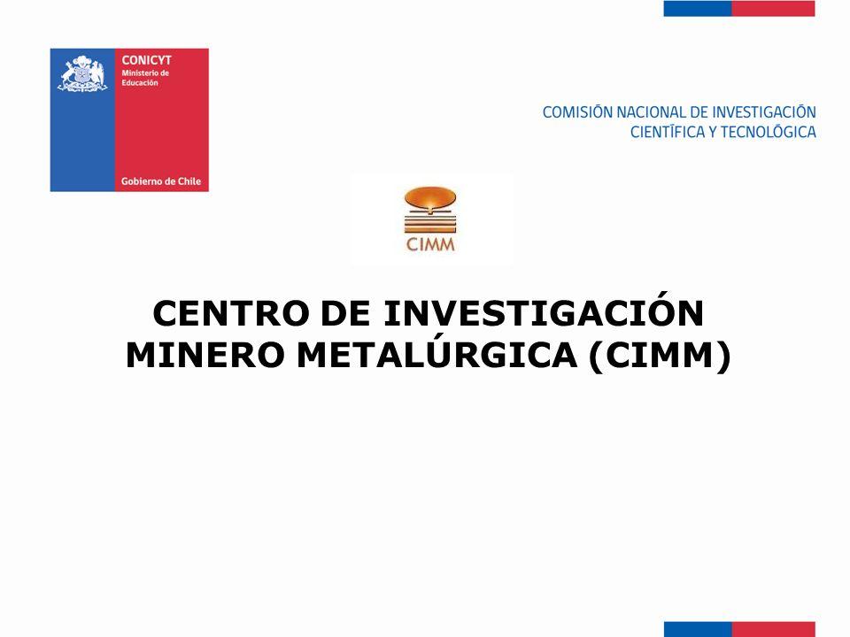 Centro de Investigación Minero Metalúrgica (CIMM)