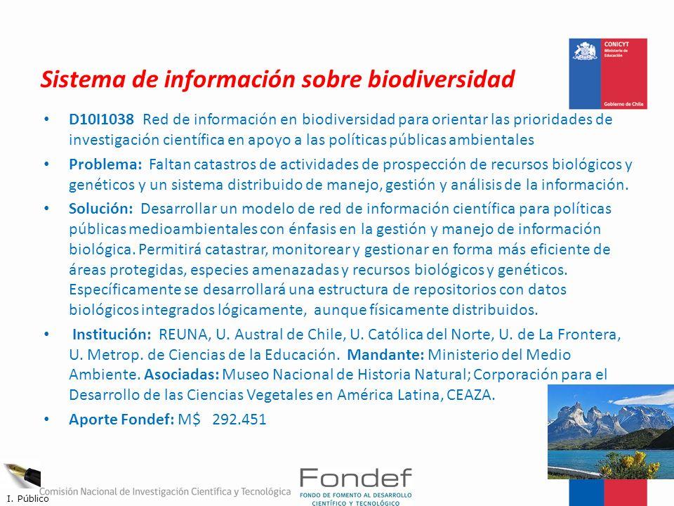 Sistema de información sobre biodiversidad