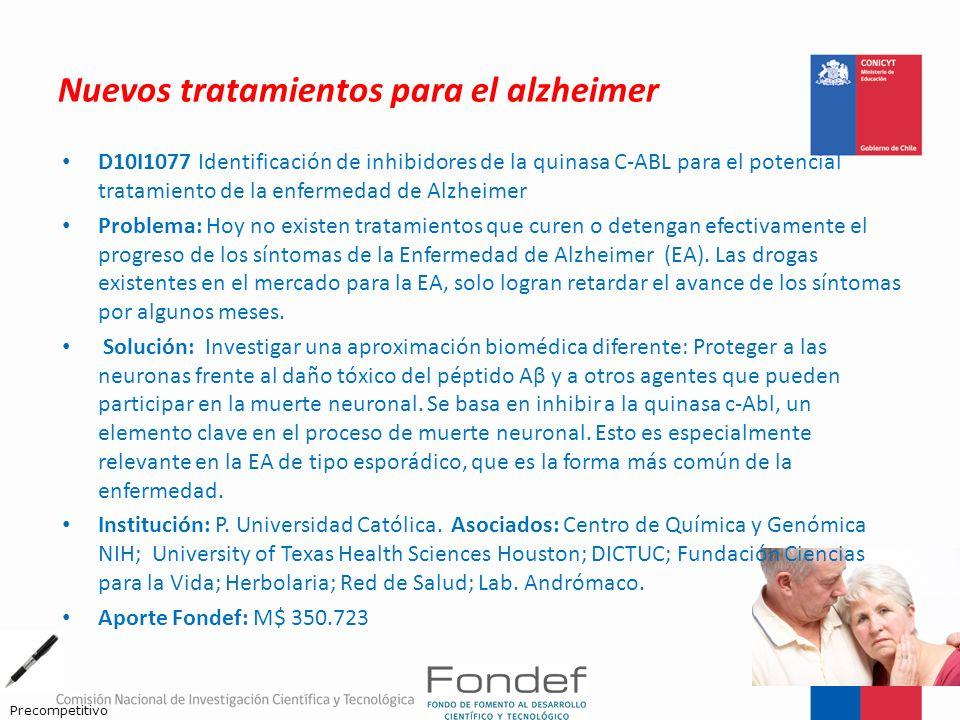 Nuevos tratamientos para el alzheimer