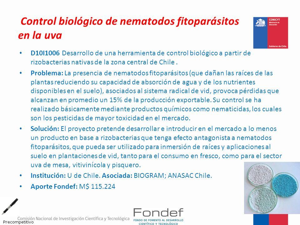 Control biológico de nematodos fitoparásitos en la uva