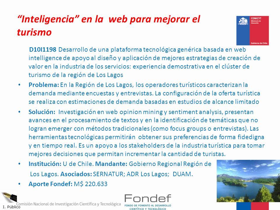Inteligencia en la web para mejorar el turismo