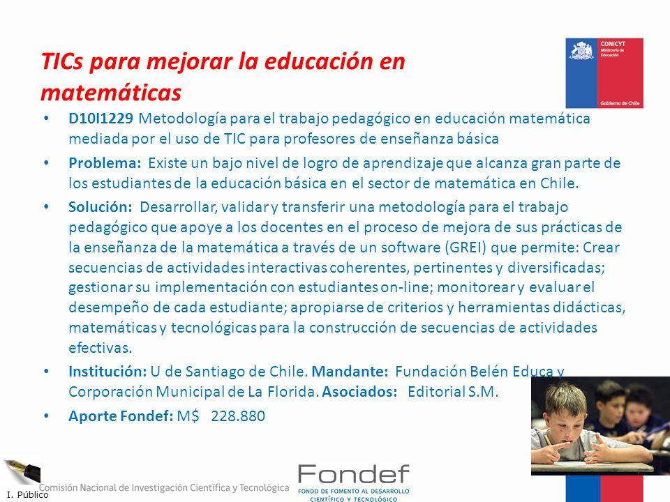 TICs para mejorar la educación en matemáticas