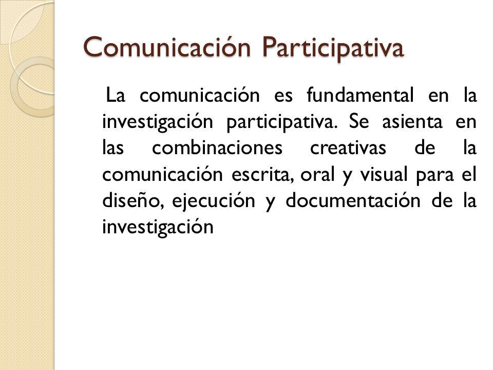 Comunicación Participativa