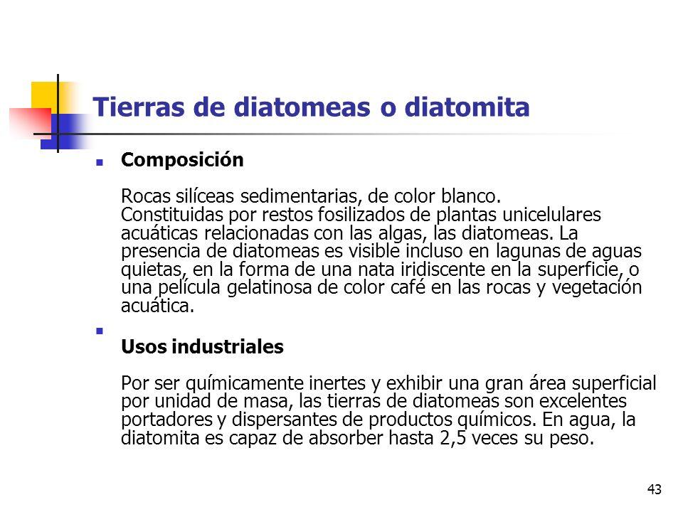 Tierras de diatomeas o diatomita