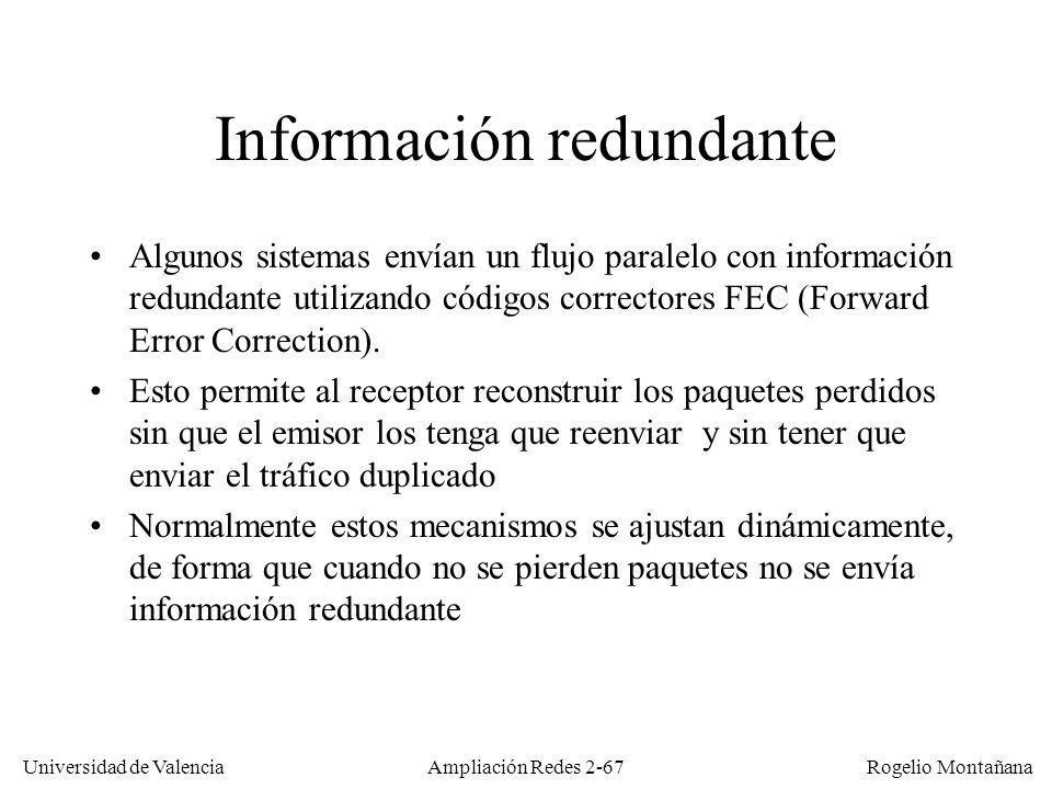 Información redundante