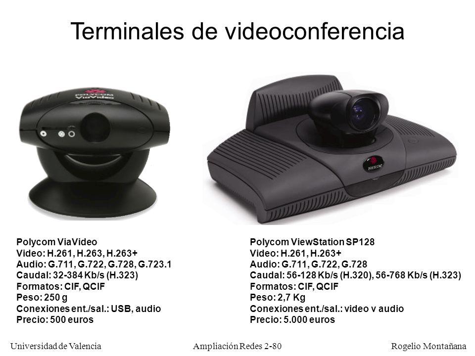 Terminales de videoconferencia
