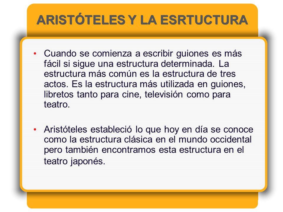 ARISTÓTELES Y LA ESRTUCTURA