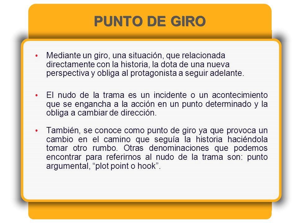 PUNTO DE GIRO