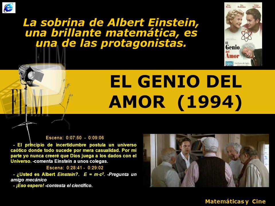 La sobrina de Albert Einstein, una brillante matemática, es una de las protagonistas.
