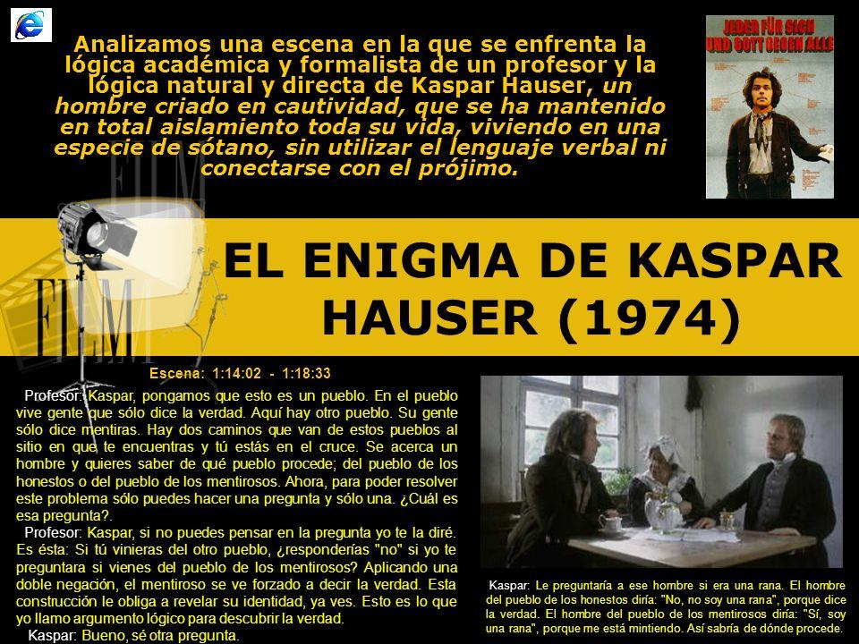 EL ENIGMA DE KASPAR HAUSER (1974)