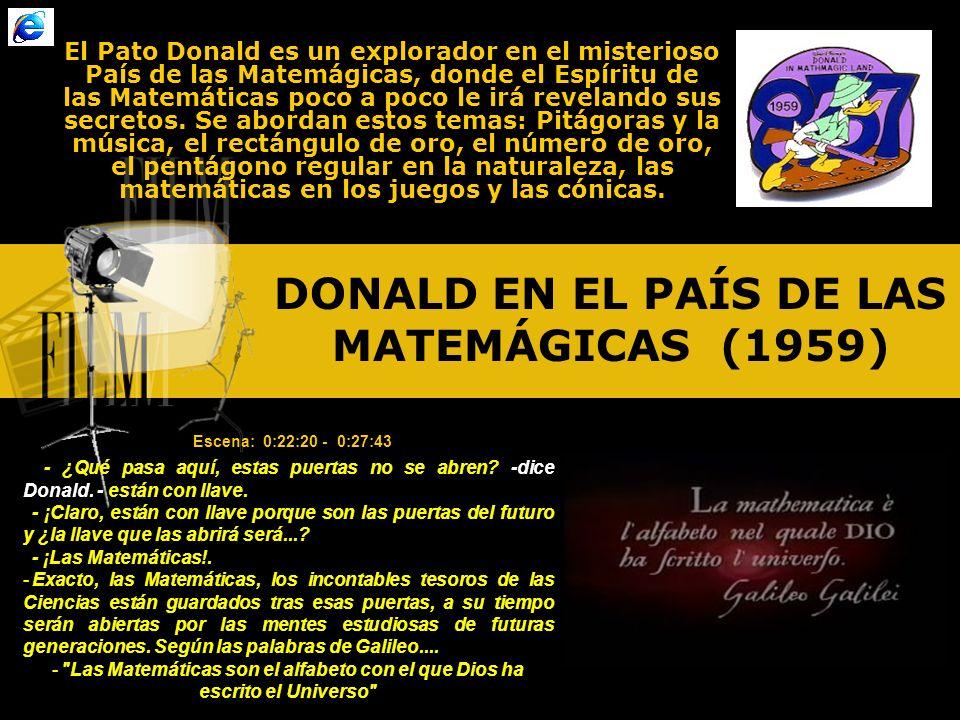 DONALD EN EL PAÍS DE LAS MATEMÁGICAS (1959)