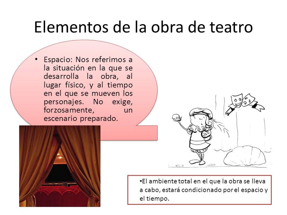 Elementos de la obra de teatro