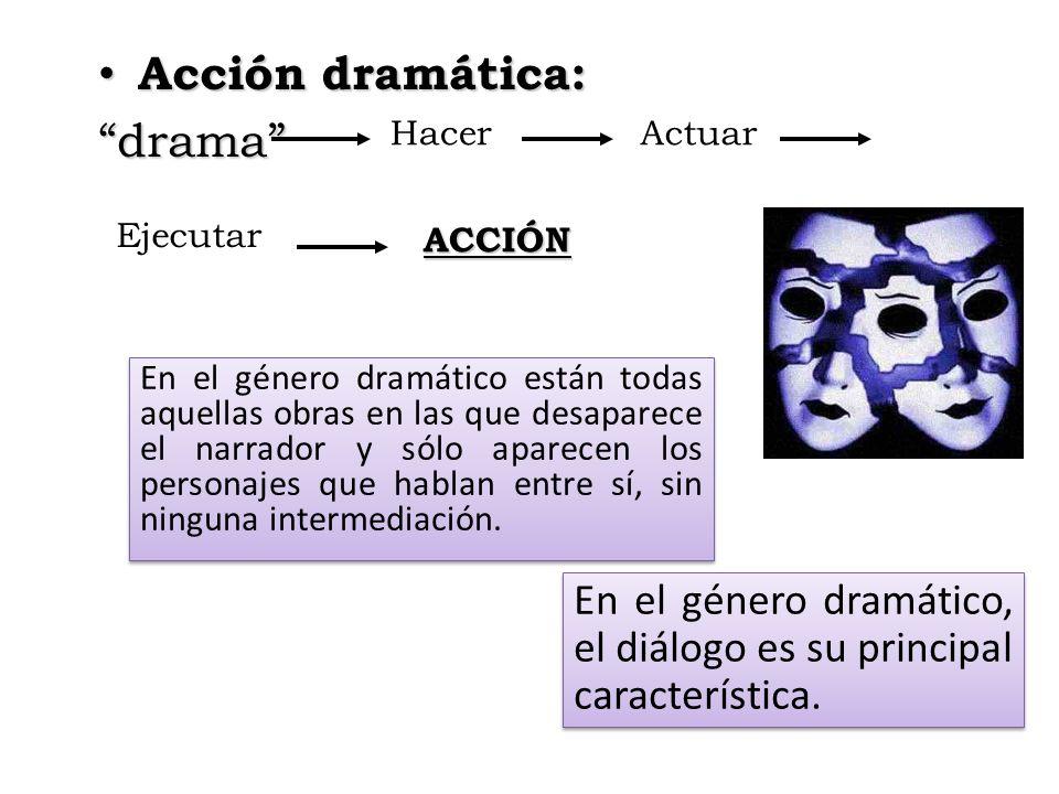 Acción dramática: drama