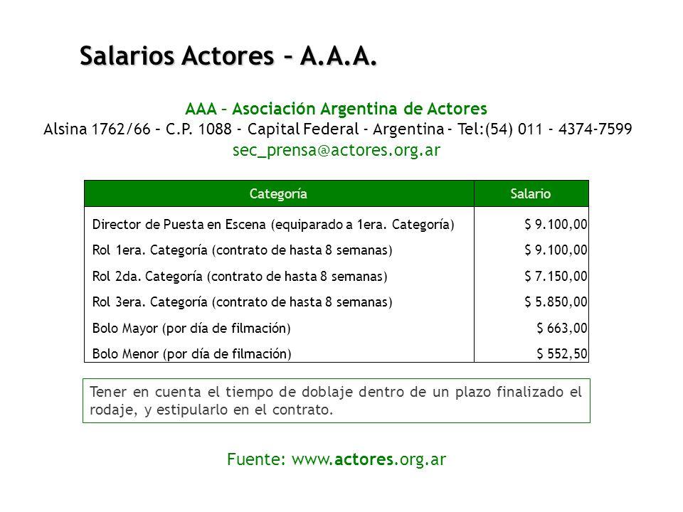 AAA – Asociación Argentina de Actores