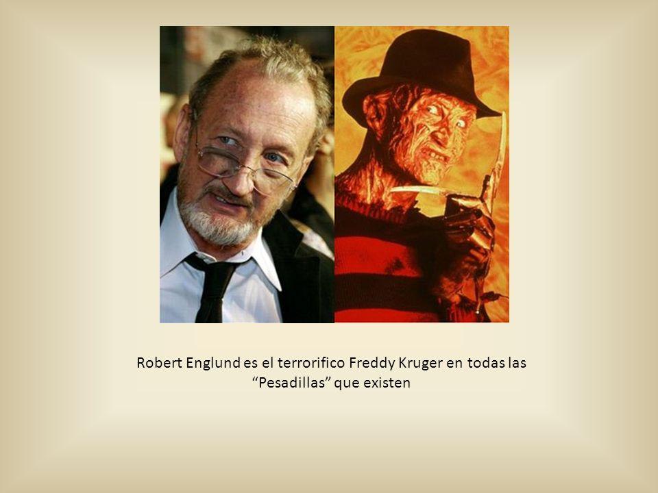 Robert Englund es el terrorifico Freddy Kruger en todas las Pesadillas que existen