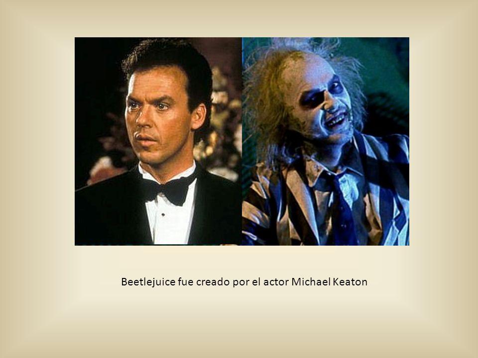 Beetlejuice fue creado por el actor Michael Keaton