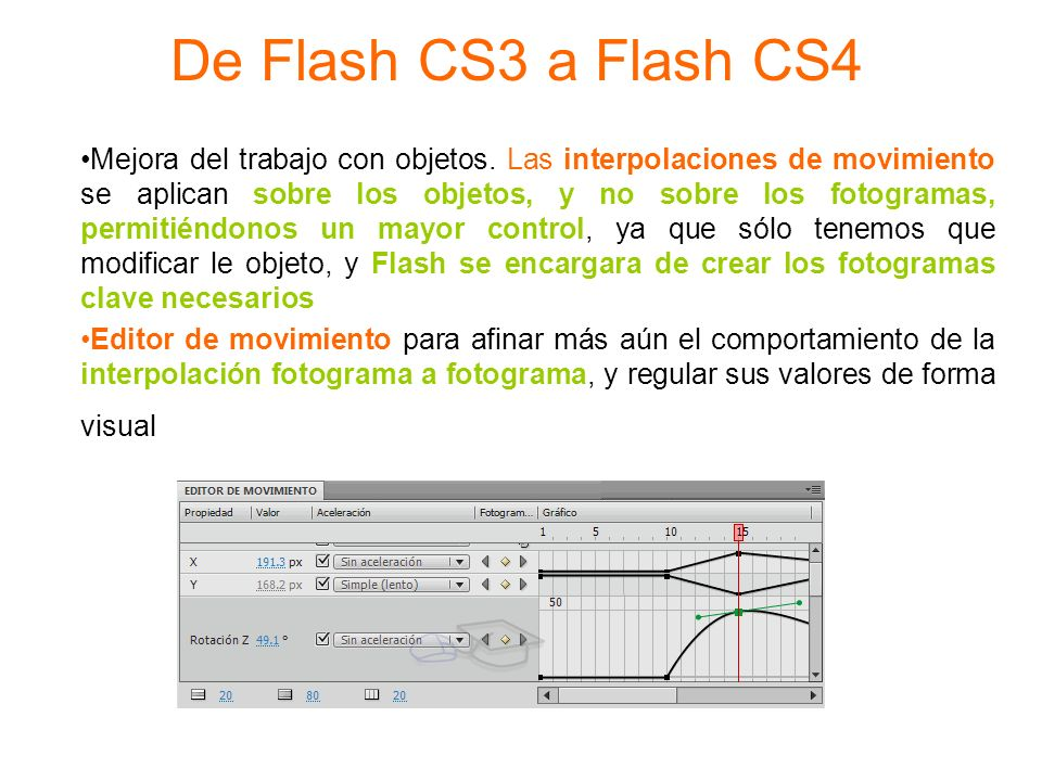 De Flash CS3 a Flash CS4