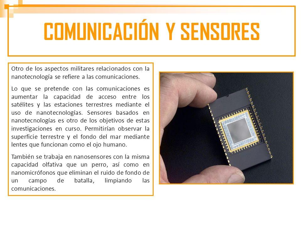 COMUNICACIÓN Y SENSORES