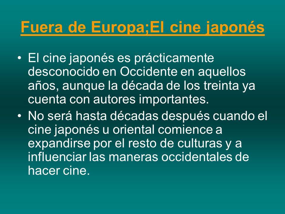 Fuera de Europa;El cine japonés
