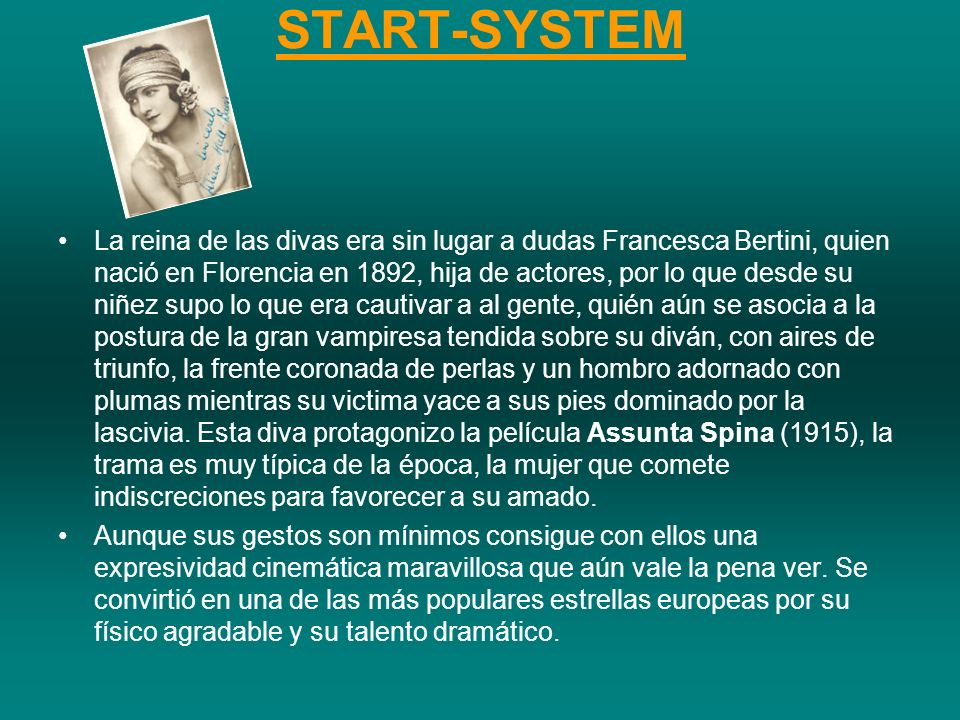 START-SYSTEM