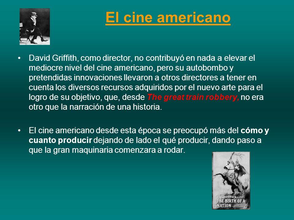 El cine americano