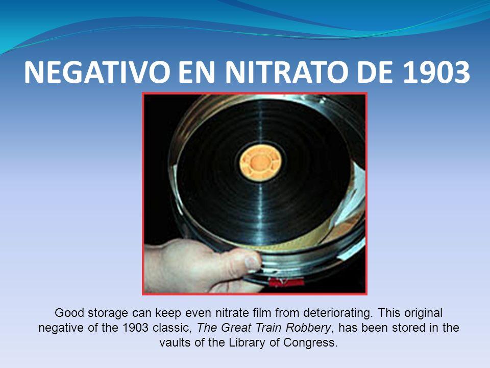NEGATIVO EN NITRATO DE 1903